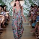 Michelle Smith shows off her 2009 Cabana & Resort collection for Milly