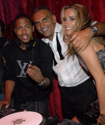 Nick Cannon, Christian and Mrs. Audigier