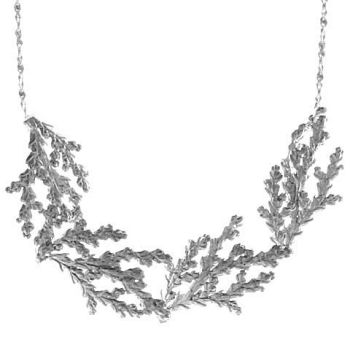 Four Ferns Necklace by Catherine Weitzman