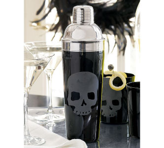 Halloween decor for your home fushion magazine fashion for Sur la table cocktail shaker