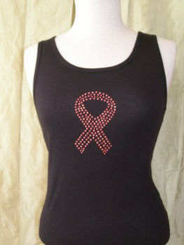Ribbon tank top