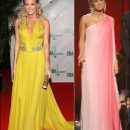 Carrie Underwood's fashion changes at 2008 CMA Awards