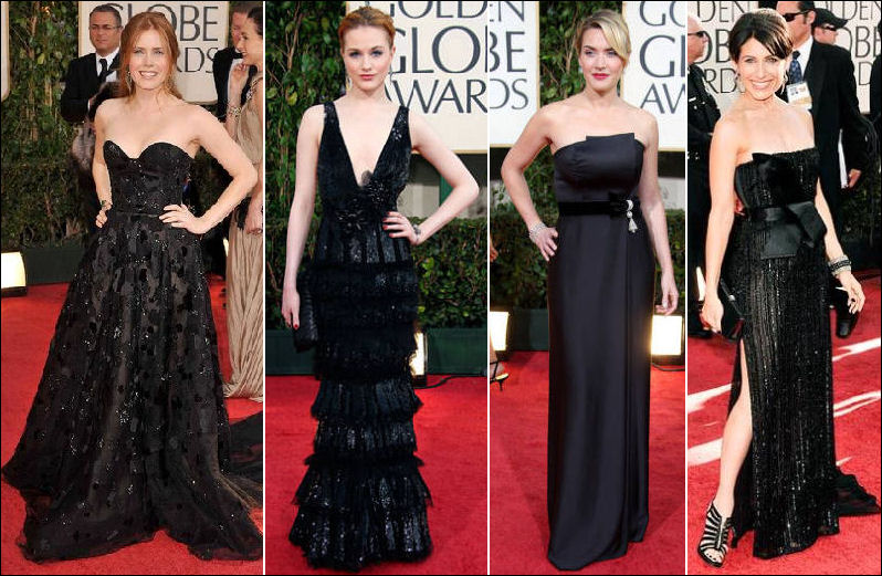 2009 Golden Globe fashions