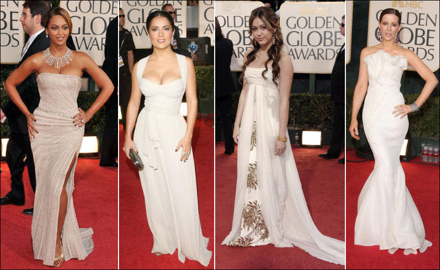 2009 Golden Globe red carpet fashion dresses | Fushion Magazine