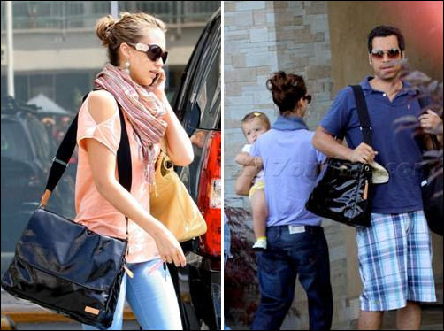 jessica-alba-and-cash-warren-storksak-dori-bag