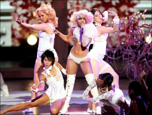 lady-gaga-2009-mtv-video-music-awards. Best Choreography Beyonce