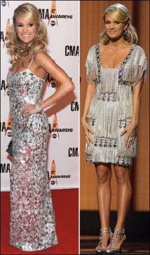 2009-country-music-awards-fashion-carrie-underwood-silver