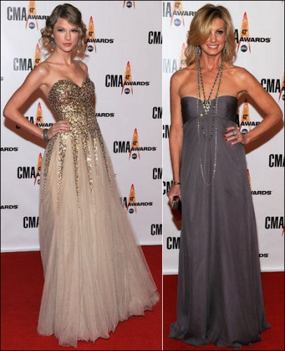 2009-country-music-awards-fashion-strapless