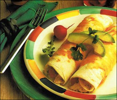 thanksgiving-recipe-green-chile-turkey-enchiladas