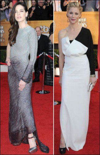 2010-sag-awards-red-carpet-fashion-michelle-monaghan-julie-bowen
