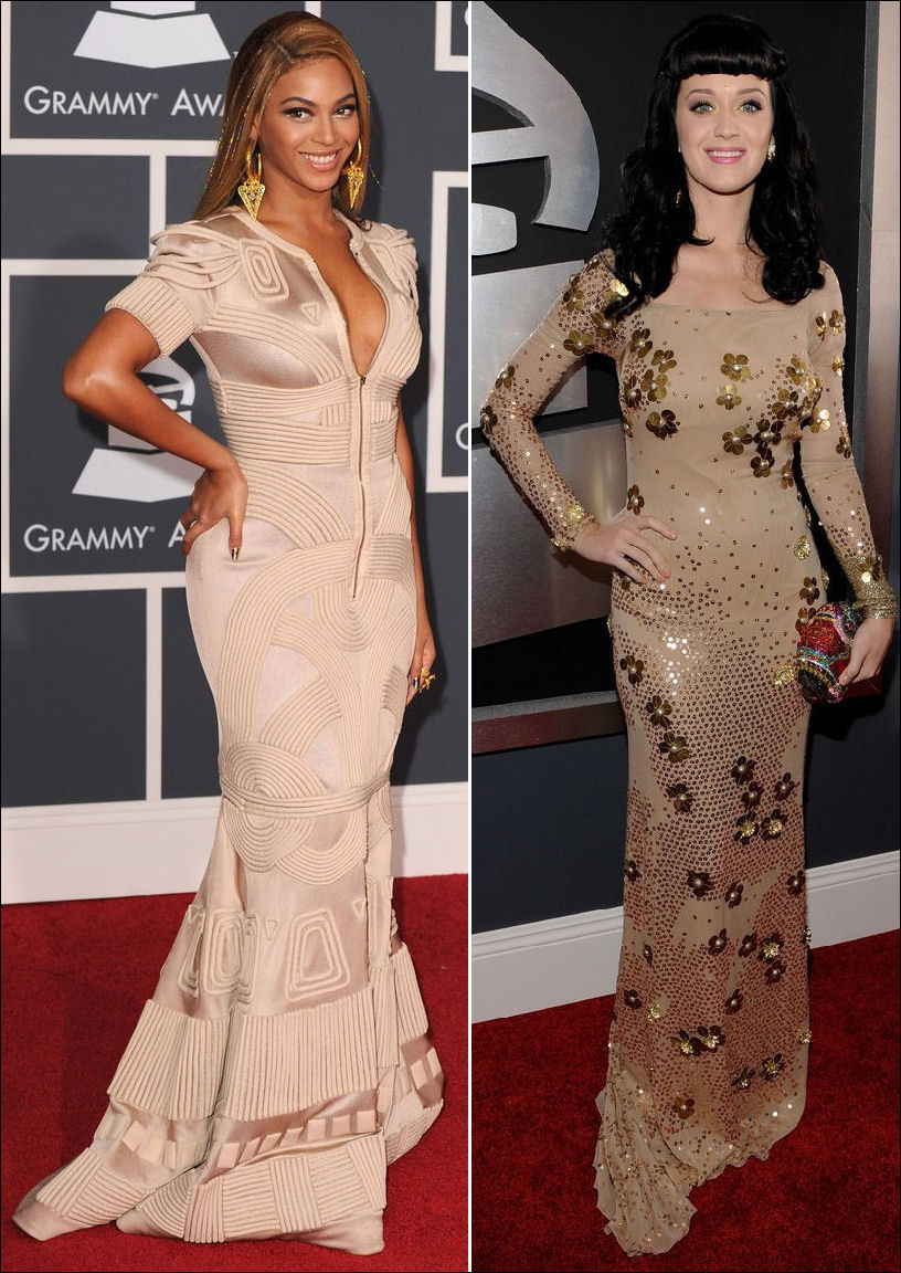 2010-grammy-red-carpet-dresses-beyonce-katy-perry