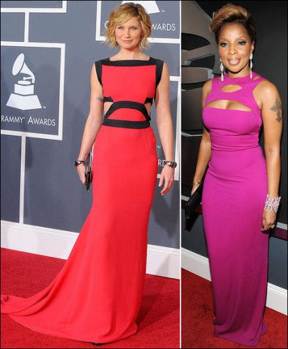 2010-grammy-red-carpet-dresses-jennifer-nettles-mary-j-blige