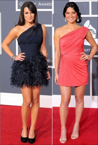 2010-grammy-red-carpet-fashion-lea-michele-olivia-munn