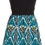 Andie Ethnic Print Dress