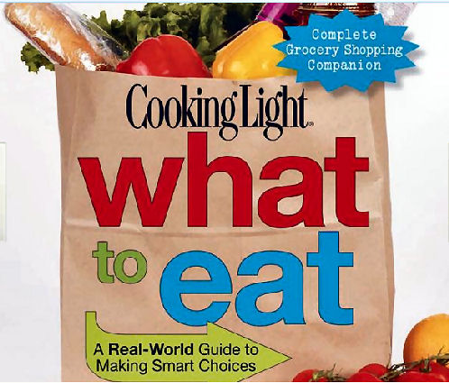 Cooking Light What to Eat book