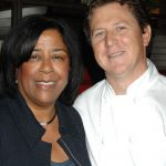 Gonpachi LA City Councilwoman Jan Perry Executive Chef Chris Behre