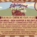2010 Life is good music festival lineup