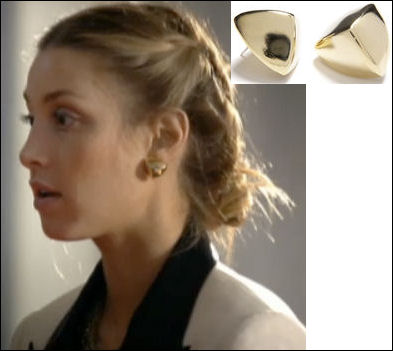 Whitney Port fashion Big Bang earrings
