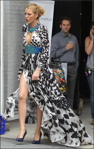 Gossip Girl fashion: Blake Lively in Packham & Young