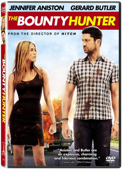 The Bounty Hunter DVD jennifer aniston gerard butler