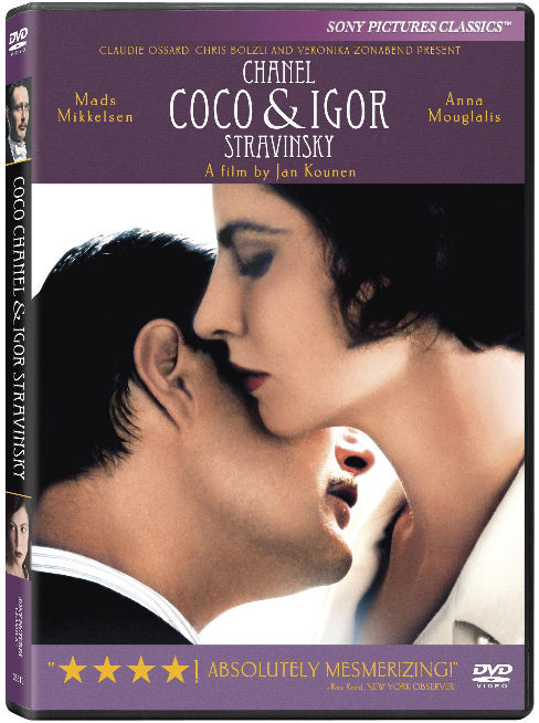 COCO CHANEL & IGOR STRAVINSKY movie dvd