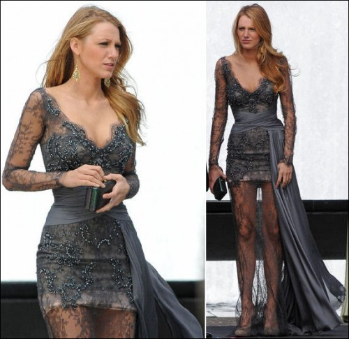 gossip girl blake lively dresses. Gossip Girl fashion: Blake Lively in Zuhair Murad