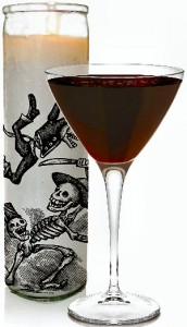 place - Halloween Mixed Drink Ideas