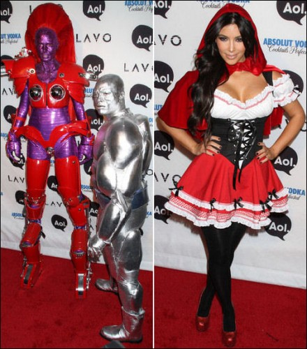 Celebrity dress up halloween costumes