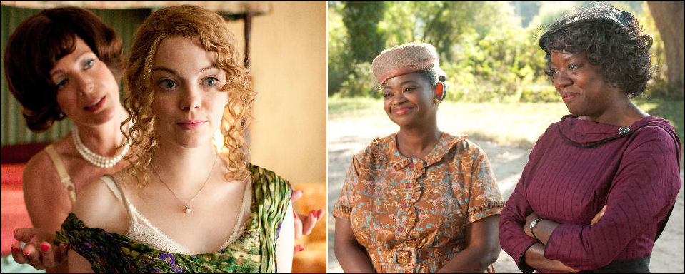 The Help movie Emma Stone Allison Janney Octavia Spencer Viola Davis