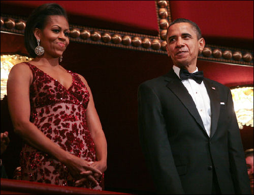 Michelle Obama 33rd Annual Kennedy Center Honors