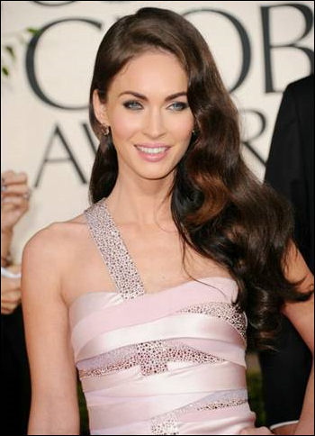 megan fox 2011 golden globes dress. Prive gown Megan Fox wore