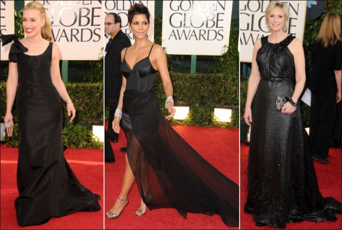 Just look! We all love Halle Berry Oscar De La Renta Dress