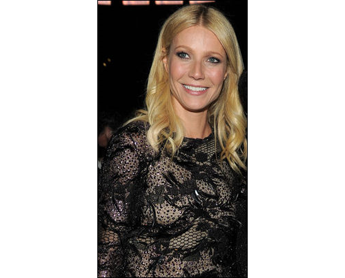 2011 Grammys hair Gwyneth Paltrow