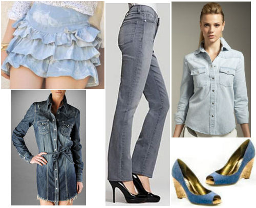 2011 Spring trends DENIM