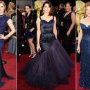 2011 Oscar red carpet fashion