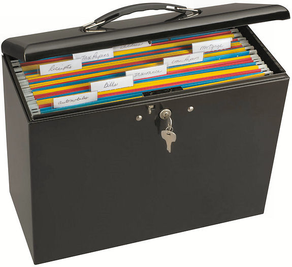 Master Lock filing box