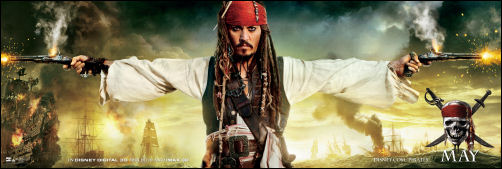 Pirates of the Caribbean 4 jack sparrow