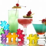 Neon cocktail drink recipes