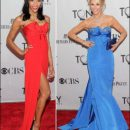2011 Tony Awards red carpet fashion