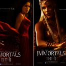 "New character posters from ""Immortals"""