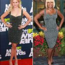 Copycats: Reese Witherspoon & Mary J. Blige in Zac Posen