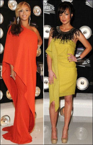 2011 mtv video music awards red carpet dresses beyonce ashley rickards