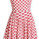 Fall 2011 fashion polka dots dress