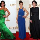 2011 Emmy Awards red carpet fashion