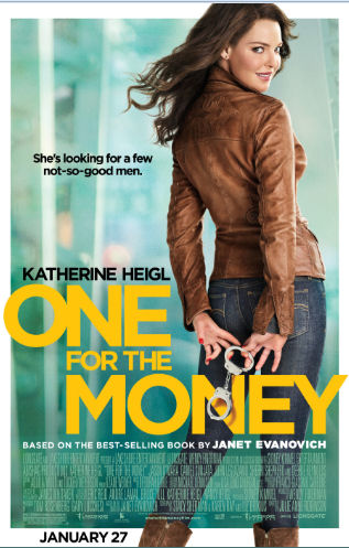 One For the Money movie poster Katherine Heigl