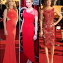 2012 SAG Awards red carpet dresses