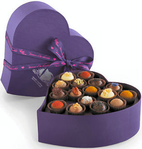 2012 Valentines Day gifts for her Vosges chocolates