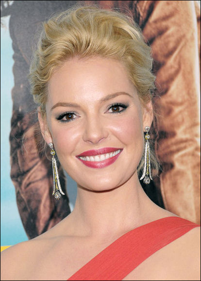 Katherine Heigl hair style One for the Money
