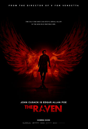 The Raven movie poster 01252012
