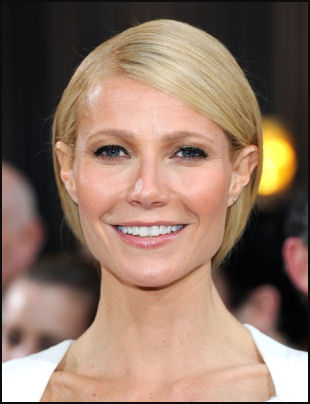 2012 Oscar hair Gwenyth Paltrow